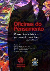 Maurizio Mancioli autor do livro O Executivo Artista: Como Suas Habilidades Artísticas Podem Mudar Sua Vida e Mundo Corporativo